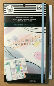 New Me And My Big Ideas The Happy Planner Wellness Warrior Accessory Book