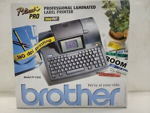 Brother Pt 9400 P touch Pro Laminated Label Printer New