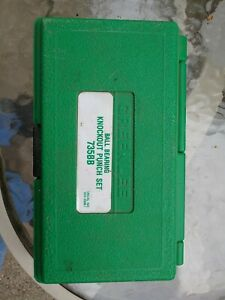 Greenlee Knockout Punch Set 735bb