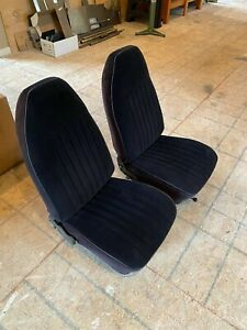 1972 Nova Front Bucket Seats Genuine Oem