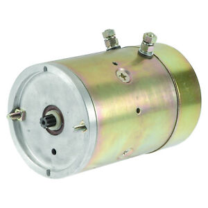 New Electric Pump Motor Fits Curtis Snow Plow Fenner Stone Prime 1788 ac 2578 ac