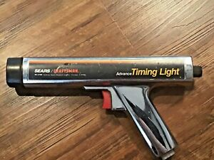 Sears Craftsman 161 2194 Inductive Advance Scale Timing Light