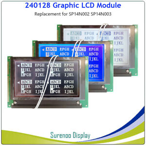 5 1 240 128 Graphic Lcd Module Replacement For Hitachi Sp14n002 Sp14n003 Lc7981