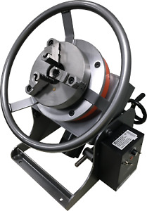 Welding Positioner With 2 Center Hole With Speed Chuck