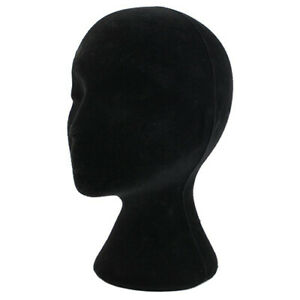Female Styrofoam Foam Mannequin Head Model Wig Glasses Hat Display Stand Us