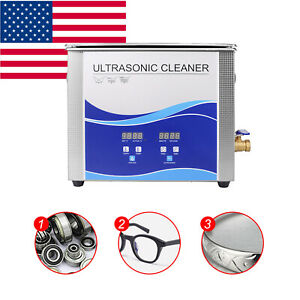 U 15l Ultrasonic Cleaner For Cleaning Jewelry Dentures Small Parts Circuit Board