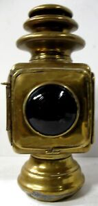 Dietz Sterling Jr Brass Tail Lamp Locomobile Speedwell Thomas Knox Model T Ford
