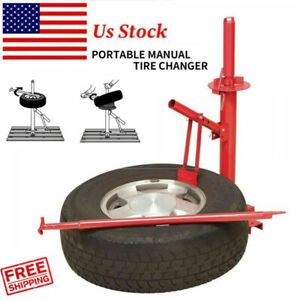 Us Stock Manual Portable Hand Tire Changer Bead Breaker Tool Auto Tire Tool