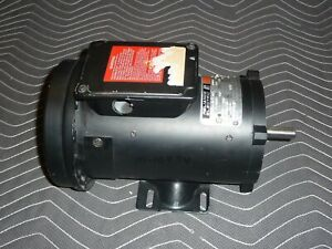 Reliance Dc Motor T56h1055ab 3 4 Hp 1725 Rpm 56c 90 Vdc 7 80 Amps