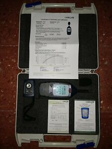 Casella Cel 246 Sound Level Db Meter Cel 120 Acoustic Calibrator With Case