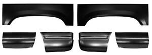 Wheel Arch Front Rear 6 5 Bed Panel Section Kit For 88 99 Chevy Gmc Pickup