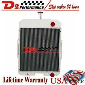 Oe 396352r91 Tractor Radiator For Case Ih 666 686 706 756 2706 27565
