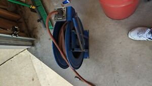 Coxreel Retractable Air Hose Reel And Air Hose Wall Or Ceiling Works Great