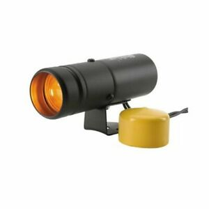 Autometer 5334 Shift Light Bright Quick Response Amber Boot Black