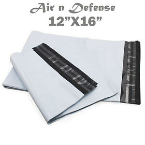 12 X 16 Poly Mailers Envelopes Plastic Shipping Bags 2 5 Mil Airndefense