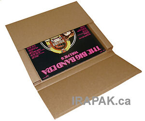 100 Lp Record Mailer Boxes For Secure Shipping mailing