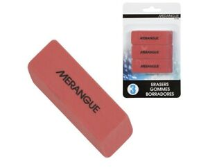 3 Pack Large Pink Erasers Erase Pencil Office Supplies Mistakes Canada