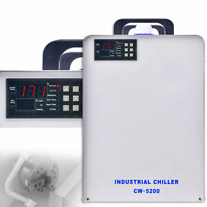 Cw 5200 Industry Water Chiller For Co2 Laser Engraving Cutting Machine 110v