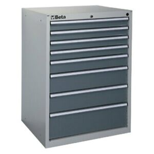 Beta Tools 035000082 C35 8g series Industrial Tool Chest W 8 Drawers