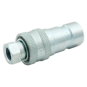 Allstar Performance Steel Hydraulic Quick Disconnect Coupler