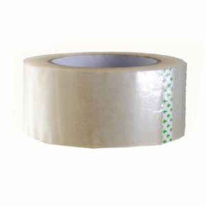 1 6 Rolls 2 X 330 2mil Or 2 6mil Clear Carton Sealing Packing Tape Moving Box
