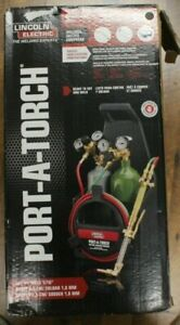 Lincoln Electric Kh990 Port a torch Portable Kit With Oxy acetylene Outfit