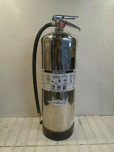 Amerex Fire Extinguisher Model 240 Water Can 2 1 2 Gal Works