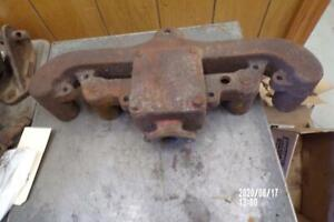 Original Allis Chalmers Wd wd45 Tractor Engine Exhaust Manifold Ac Wd45 wd