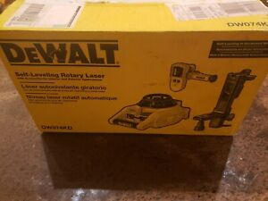 Dewalt Dw074kd Interior Exterior Self Leveling Rotary Laser With Accessories