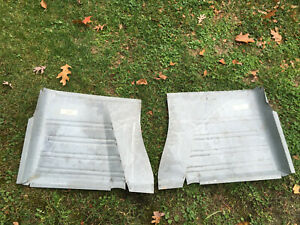 1963 1964 1965 Buick Riviera Front Floor Pans New Pair Free Shipping
