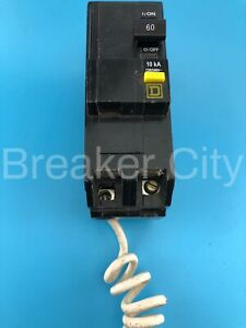 Square D 60 Amp 2 Pole Qo Qo260gfi plug In Ground Fault Circuit Breaker