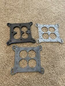 1968 1969 1970 Ford Mustang Shelby Gt500 428cj Scj Carburetor Bakelite Gaskets