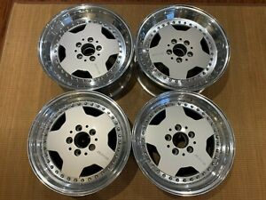 Amg Aero 3 16 17 Oz Racing Rims 5x112 Mercedes W201 Dedicated Super Rare