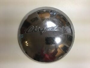 Vintage 1940 S Chrysler Chrome Dog Dish Hubcap