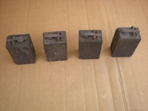 Ford Model A Model T Wood Box Battery Ignition Coils 4 Vintage Ford Oem