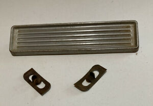 60 61 62 63 64 65 66 Chevy Truck Radio Delete Plate With Original Clips Gmc