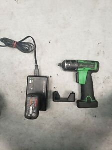 Snap on 14 4v 3 8 Drive Microlithium Cordless Impact Wrench 2 battery Charger