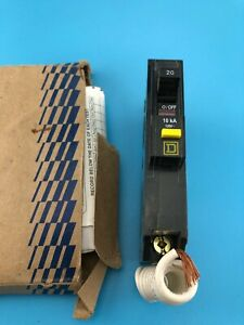 Square D Qob120gfi 20a Single Pole Circuit Breaker new Open Box