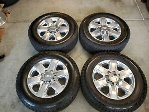 20 Inch Factory Chevy Chevrolet Gmc Wheels Rims And Tires 8 Lug Hd 2500 3500