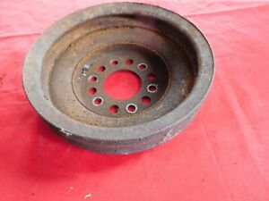 1959 1960 Cadillac 390 Crankshaft Pulley 2 Groove Non A C Low Low Price