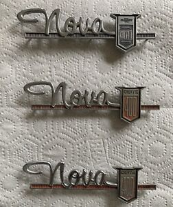 62 Chevy Ii Nova Emblem Badge