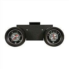 1967 67 Shelby Mustang Pod With Stewart Warner 2 5 8 Oil Amp Green Line Gauges
