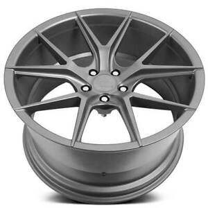 4 22 Verde Wheels V99 Axis Matte Graphite Rims b41