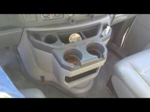 Console Front Floor Outer Section Fits 03 18 Ford E350 Van 129290