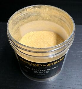 House Of Kolor Dry Pearl Dr03 C01 Gold Pearl 2 Oz