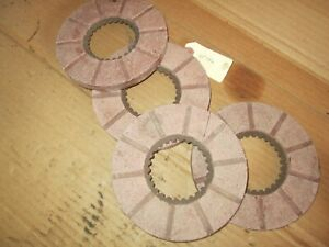 Minneapolis Moline Tractor U ub Brand New 4 Brake Disc Nos