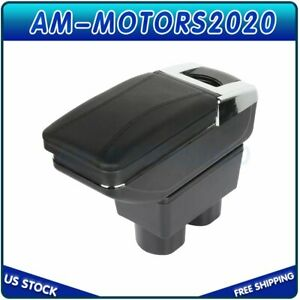 For Nissan Versa 07 11 Center Console Armrest Container Storage Box W Base New
