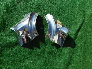 1959 Cadillac Trunk Extension Filler Trim Both Sides 59 Very Shiny