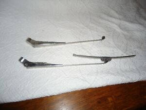 Vintage Trico Wiper Arms Pair 10 Stainless