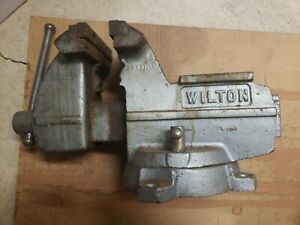 Wilton 111102 111103 5in Bench Vise In Good Condition